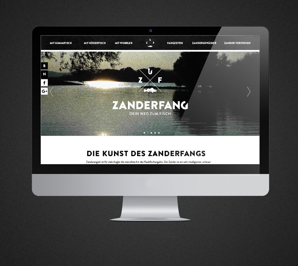 Zanderfang Webdesign Agentur Köln