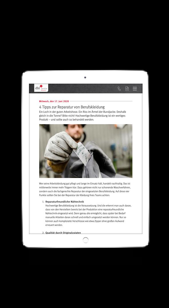 Blog Gestaltung online