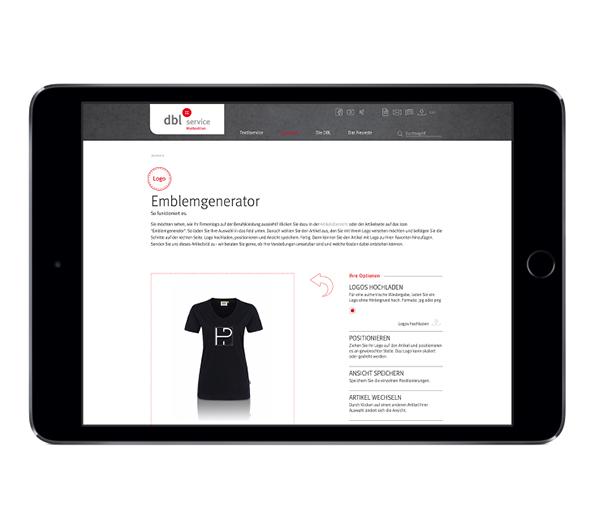 Online Portal Design