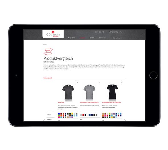 Online Portal Konzept
