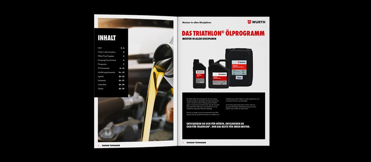 Broschürendesign von Agentur hallmannpienta