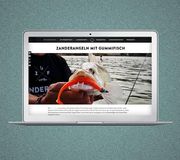 Website Design Zanderfang